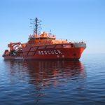 Участие в спасательной операции в Норвежском море