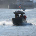 Ликвидация загрязнения в акватории в районе моста Сивераса, устье р. Темерник