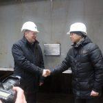 Закладка днищевых секций барж-площадок проекта 7514 на AO «Судостроительный завод «Лотос»