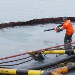 Затопление буксира «Прибой» в порту Темрюк