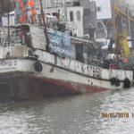 Аварийно-спасательные работы на судне «Норд-2» по ликвидации поступления забортной воды