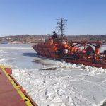 Оказание услуг по ледокольному обеспечению судов в период зимней