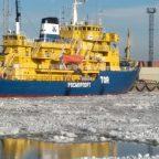 Ликвидация последствий разлива нефтепродуктов в морском порту «Большой порт Санкт-Петербург»