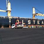 Окончание работ по ликвидации разлива нефтепродуктов  с судна «Мазури» в порту Усть-Луга
