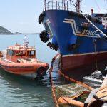 Учение на акватории морского порта Зарубино