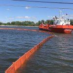 Учение на акватории морского порта Калининград