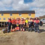 Проведены международные совместные тренировочное учения на акватории морского порта Вадсе, Королевства Норвегия