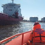 Учение на акватории морского порта «Большой порт Санкт-Петербург»