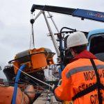 Учение на акватории морского порта Владивосток