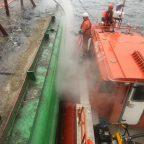 Ликвидация разлива мазута в п. Владивосток