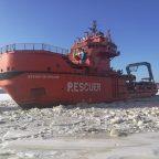 МФАСС «Берингов пролив» приступил к ледовым проводкам в порту Советская Гавань