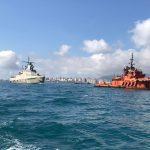 «МЕРКУРИЙ» ДОСТАВИЛ ПАТРУЛЬНЫЙ КОРАБЛЬ ВМФ РОССИИ В НОВОРОССИЙСК