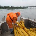 Азово-Черноморский филиал принял участие в тренировочном учении в морском порте Ростов-на-Дону и Азов.