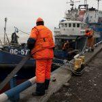 Морские спасатели провели учения на акватории порта Таганрог