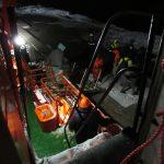 Экипаж спасательного буксира «Меркурий» провел медэвакуацию в Керченском проливе