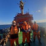 Спасательный буксир «Рубин» пришел на помощь аварийному судну