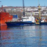 Спасатели Камчатского филиала провели тренировочные учения в порту Петропавловск-Камчатский