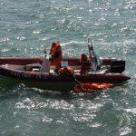 Спасатели Азово-Черноморского филиала приняли участие в учениях, прошедших в Керченском проливе