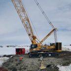 Гидростроители Морспасслужбы возобновили строительство паромно-пассажирского комплекса под Анадырем (КПМИ)
