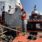 Спасатели Каспийского филиала Мосрапсслужбы провели экстренную медэвакуацию