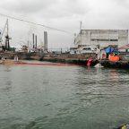 В морском порту Корсаков ликвидировали условный разлив нефтепродуктов