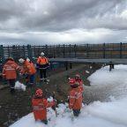 Спасатели Камчатского филиала отработали действия на объектах газоконденсатных месторождений